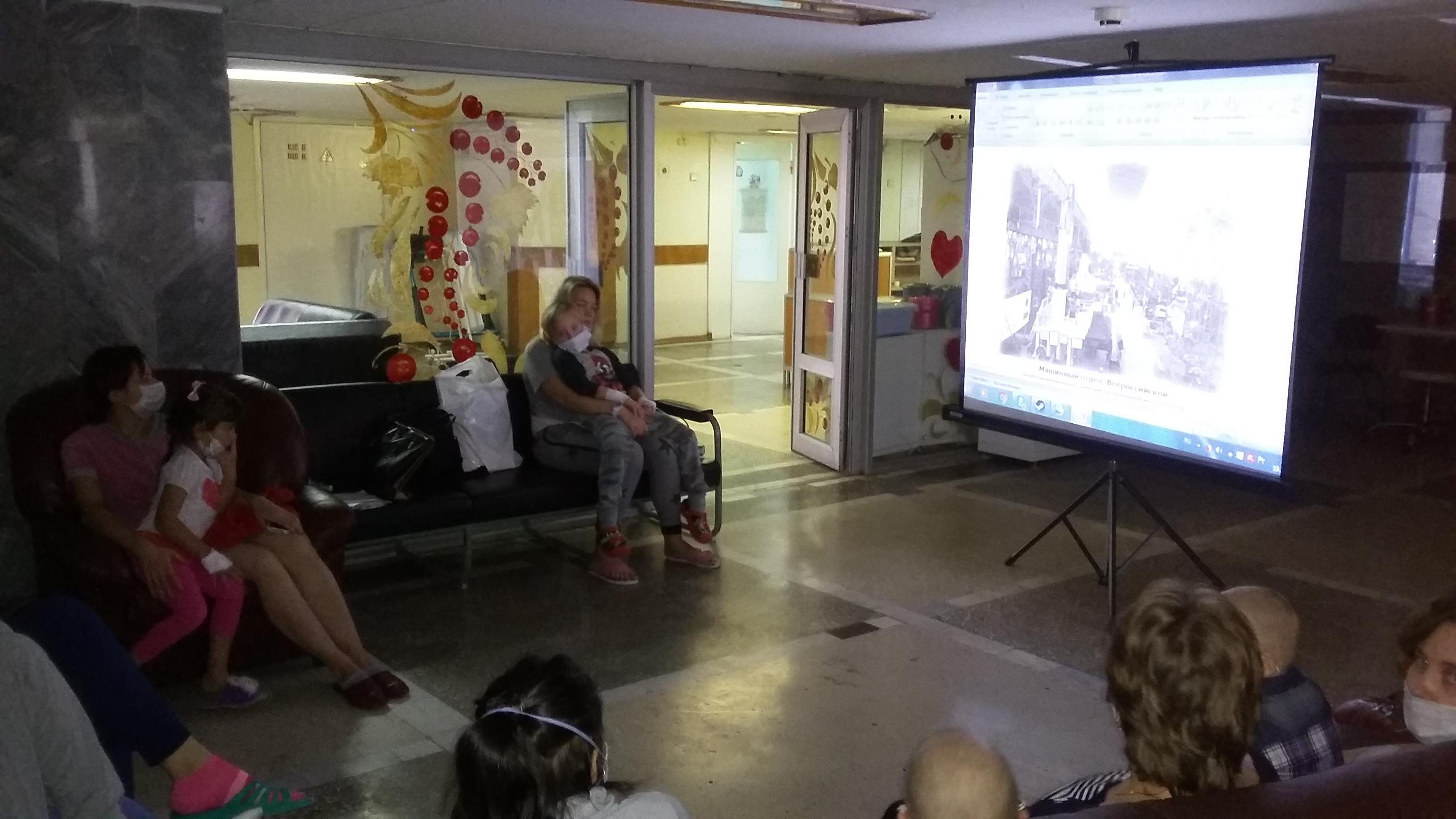 Виртуальная экскурсия по Нижнему Новгороду для подопечных в онкологическом и гематологическом отделениях